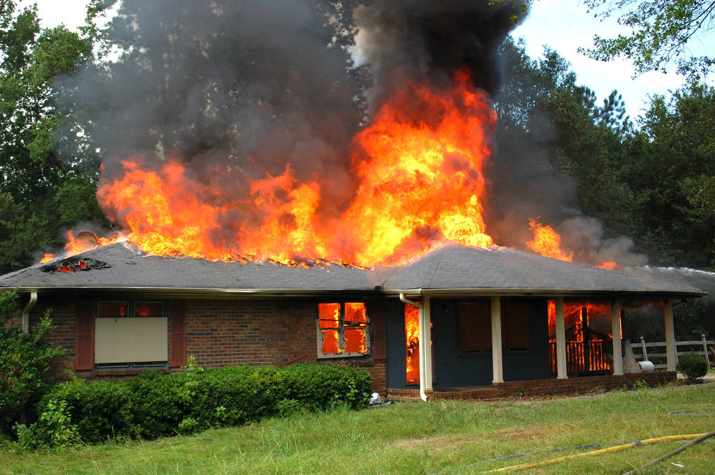 House Burned Where Fire Station To Be Built