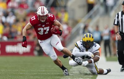 NCAA Football: Michigan at Wisconsin