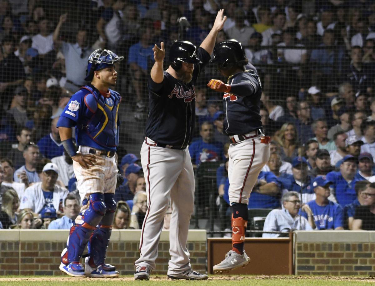MLB: Atlanta Braves at Chicago Cubs