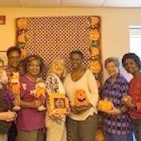 Conyers Garden Club helps Rockdale Cares with Fall Dance