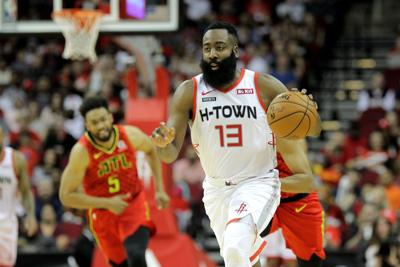 NBA: Atlanta Hawks at Houston Rockets