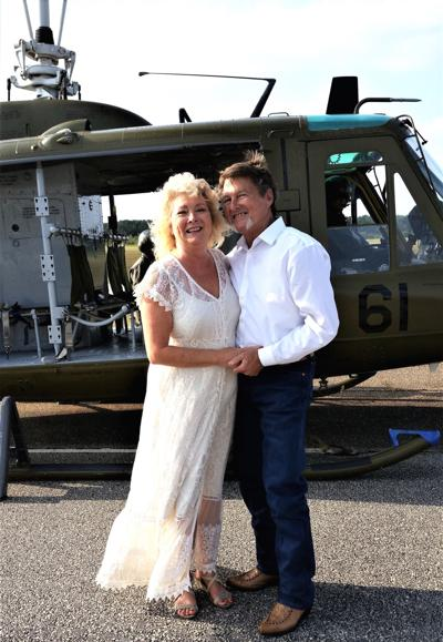 Back on the ground, and married!.jpg