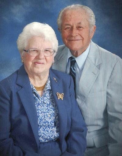 Johnsons celebrating 70 years of marriage
