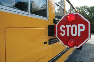 Carr advises caution when passing stopped school bus