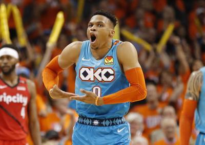 NBA: Playoffs-Portland Trail Blazers at Oklahoma City Thunder