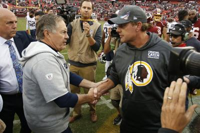 NFL: New England Patriots at Washington Redskins