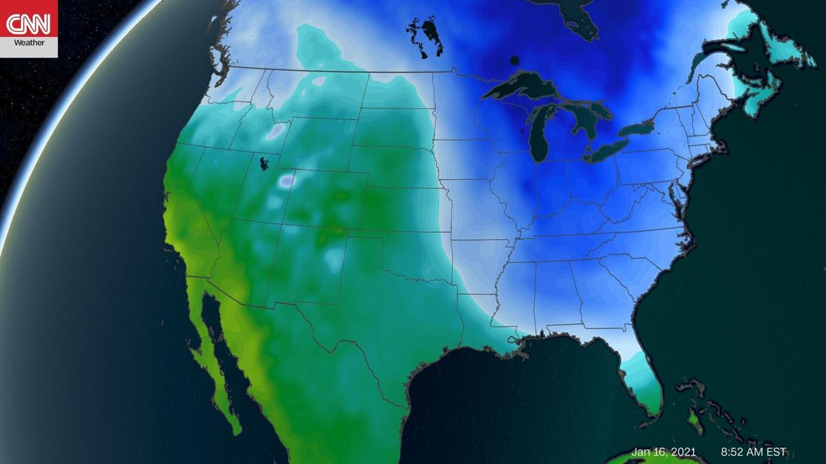 The polar vortex may be on its way