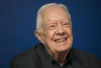 Jimmy Carter granted tenure at Emory University after 37 years of teaching