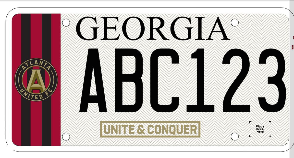 Georgia Senate passes bill creating Atlanta United license plate