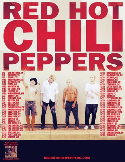 Red Hot Chili Peppers to play Philips Arena