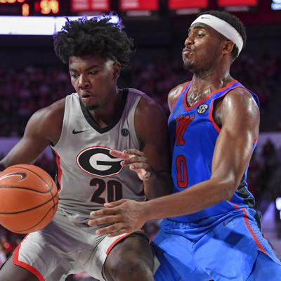 NCAA Basketball: Mississippi at Georgia