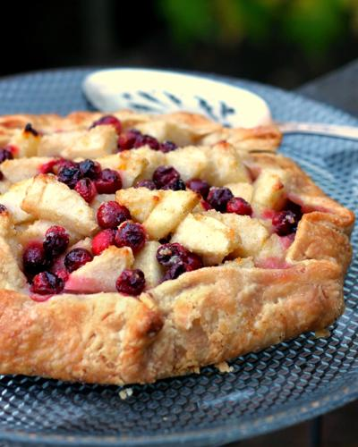 Pear and Cranberry Galette