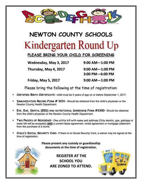 Ncss Kindergarten Round Up Dates Procedures Released