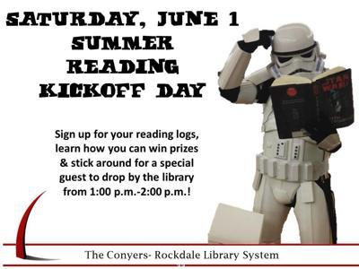 Rockdale Summer Reading Program start this weekend