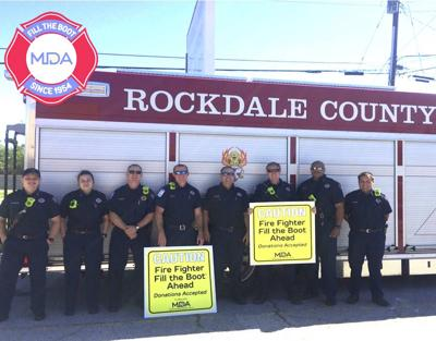 Rockdale firefighters starting Fill the Boot campaign