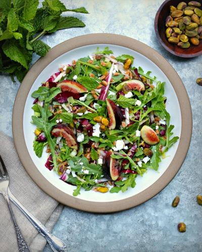Fig Farro Salad