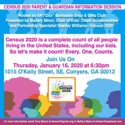 census 2020 info session
