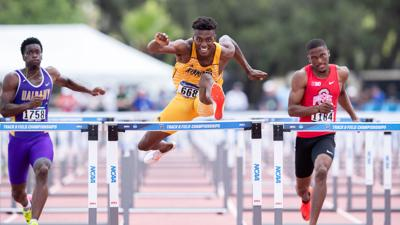 Heritage alum Dayo Akindele qualifies for NCAA finals in 110-meter hurdles