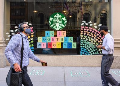 Starbucks sales are still getting crushed by coronavirus