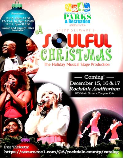 a soulful chrismas coming to rockdale