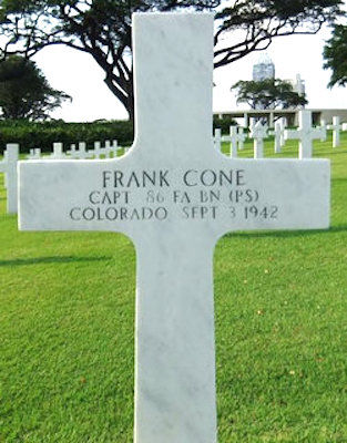 Frank Cone's headstone - unexplained why Colorado is engraved on the cross copy.jpg
