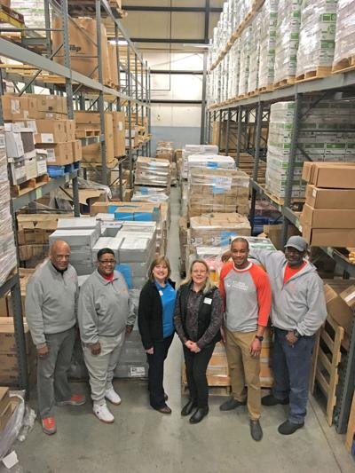 RCPS receives more that 22,600 pounds of school supply