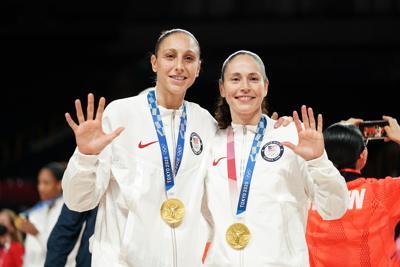 Olympics: Basketball-Women Finals - Gold Medal Match