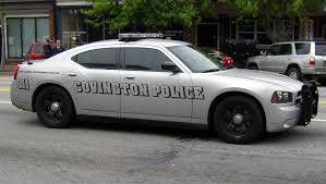 Covington Police car