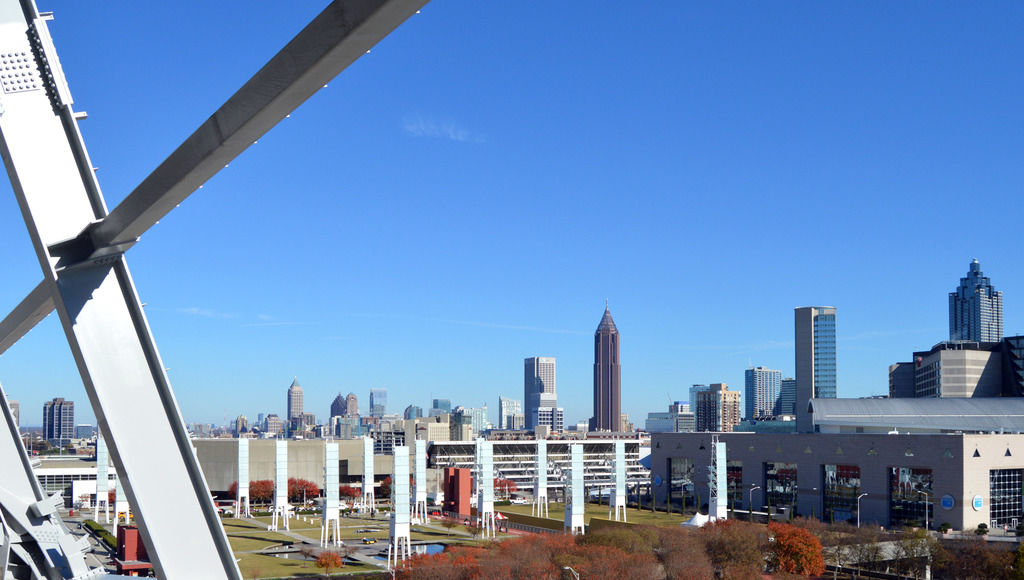 May Not Look It But Mercedes Benz Stadium In Atlanta Is