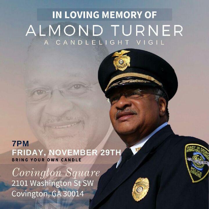 Candlelight vigil Friday for Almond Turner
