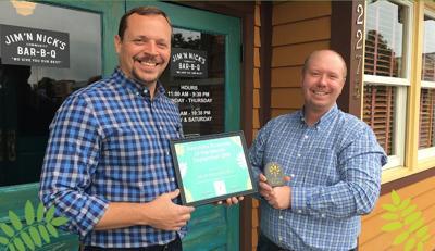 Jim N Nicks named Beautiful Business of Month