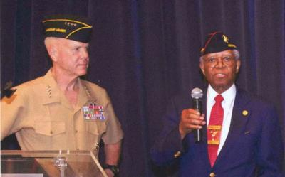 Marine Britton fought racism, perceptions during WWII, Korea