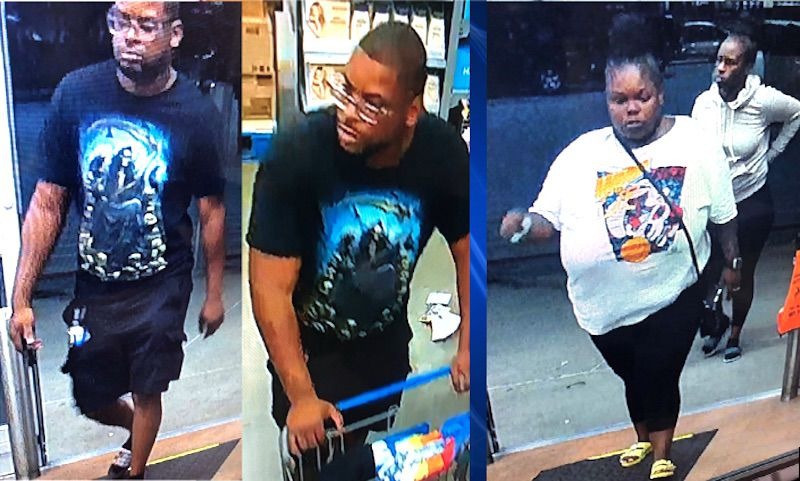 Trio sought after pulling handgun on Walmart manager
