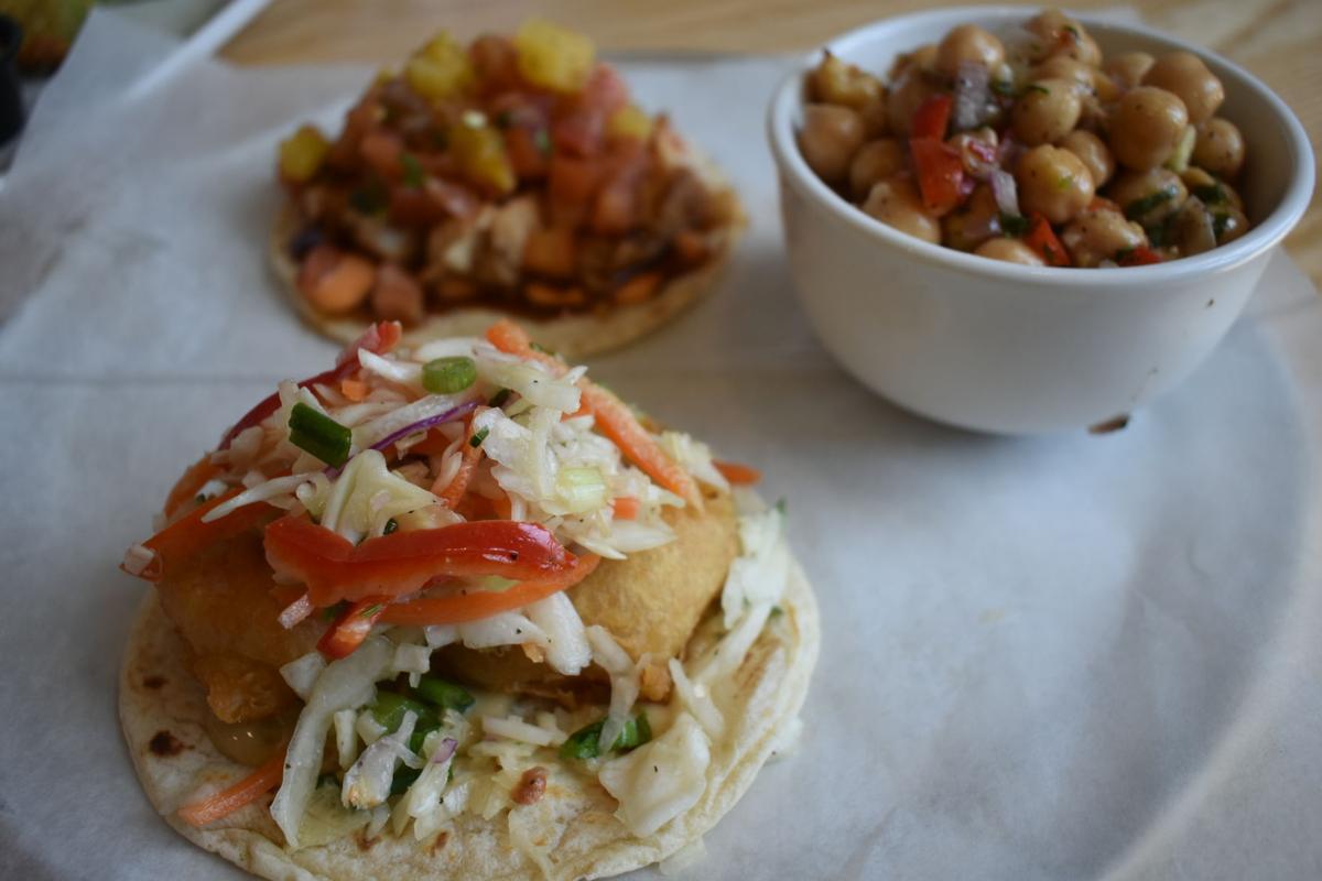 Shrimp Tempura Taco