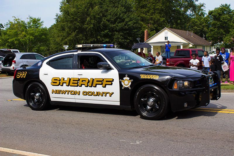Newton deputy fired upon during chase