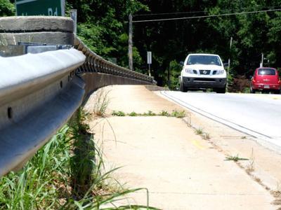Pedestrian bridge lacking funds to build