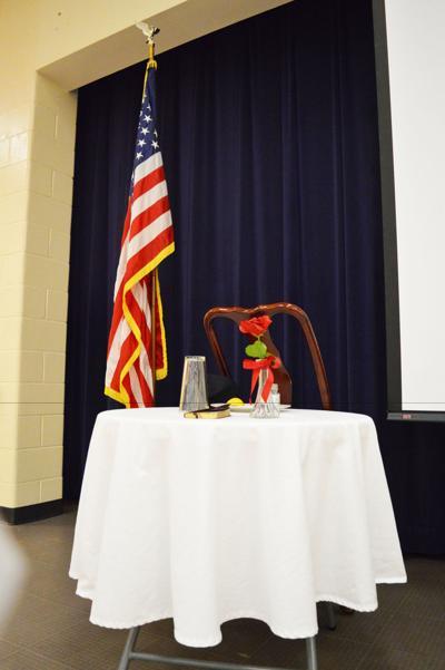 Lorraine Elementary and Davis Middle salute Rockdale Veterans