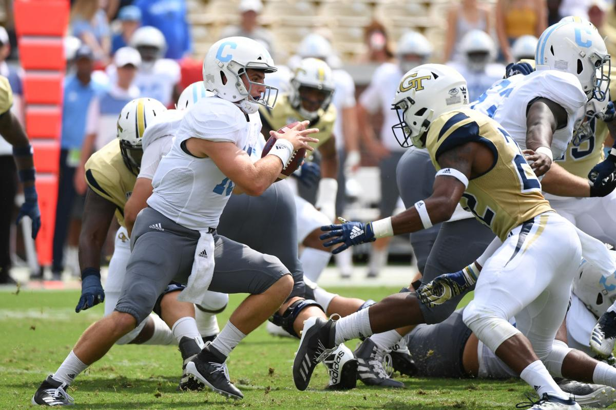 The Citadel stuns Georgia Tech in OT, earns first win over ...