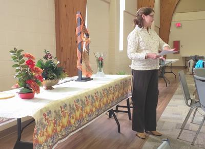 Conyers Garden Club learns about floral design