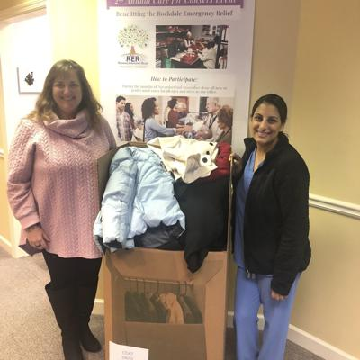 Dr. Anushka Amin and Associates partner with Rockdale Emergency Relief on coat drive