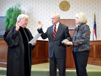 Superior Court judges take oath