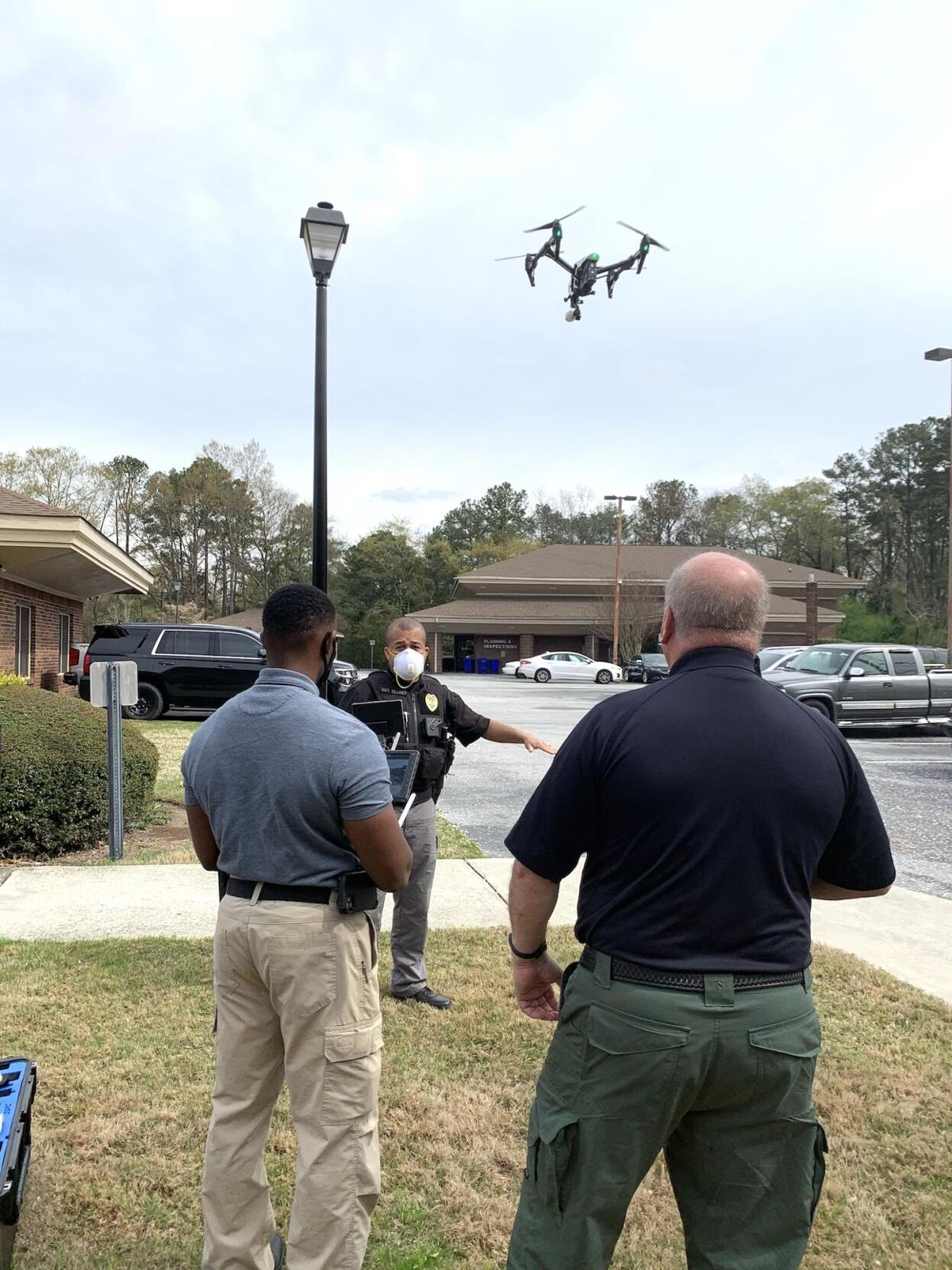 Conyers Code Enforcement_drone training Oct. 2021.JPG