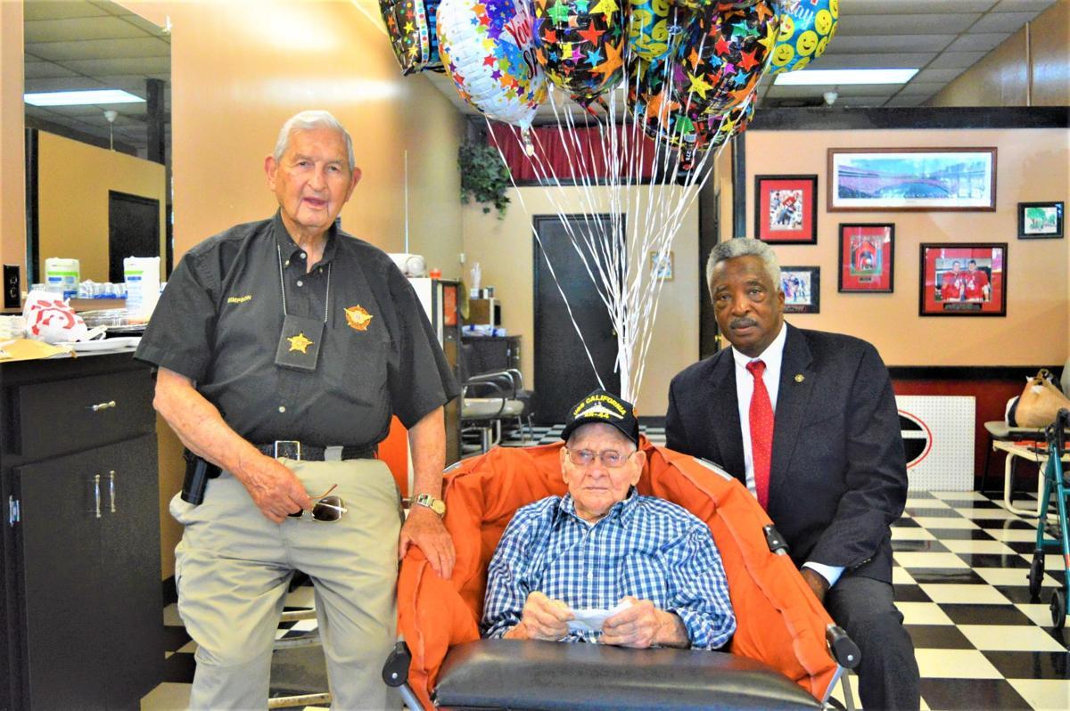 104 Year Old Pearl Harbor Veteran Celebrates His Birthday In Covington News Rockdalenewtoncitizen Com