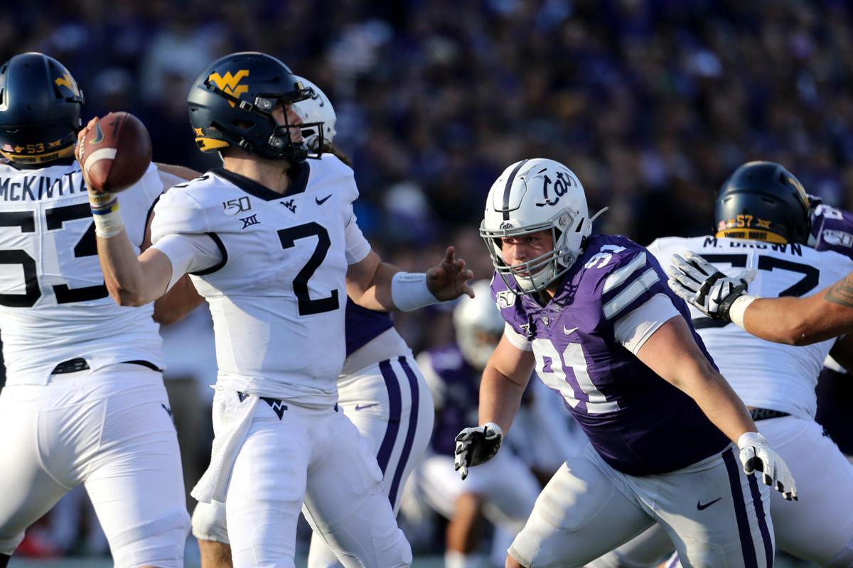 NCAA Football: West Virginia at Kansas State