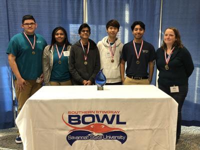 Rockdale Magnet School team wins Southern Stingray Bowl in Savannah