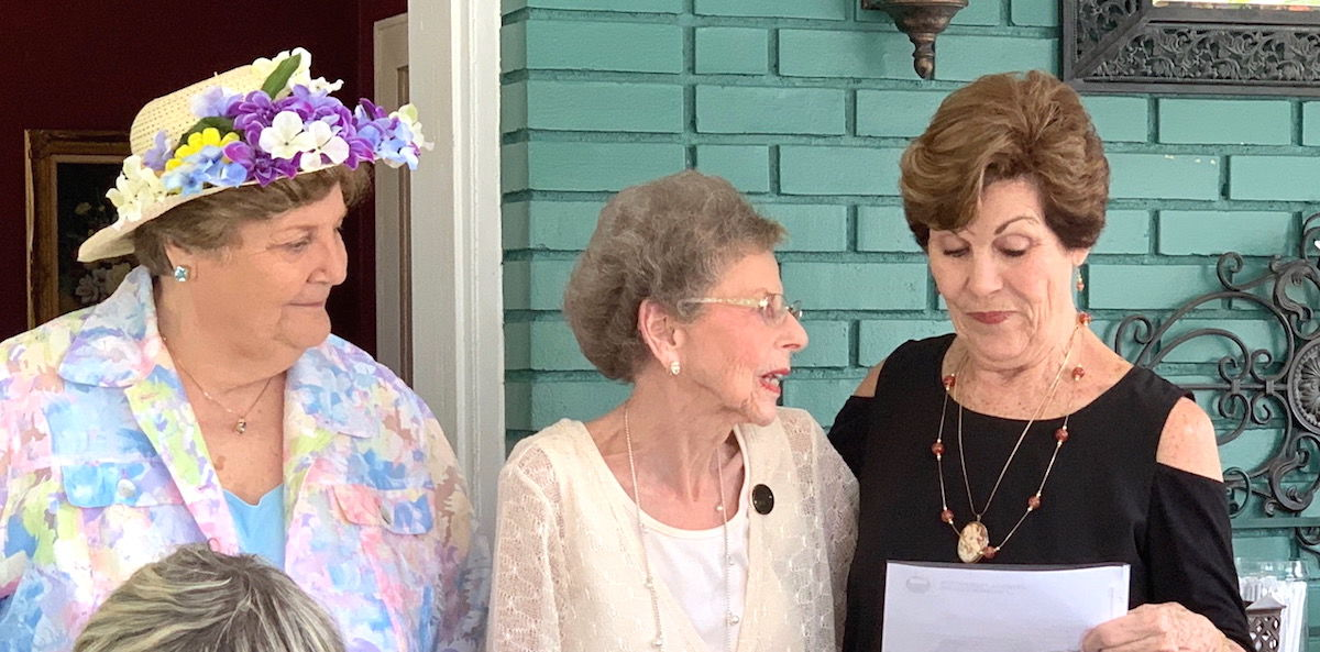GFWC Service Guild of Covington member receives 50-year pin