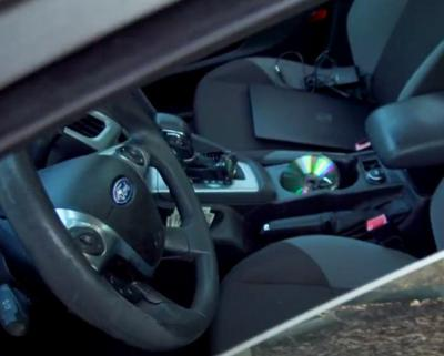 Thefts from motor vehicles