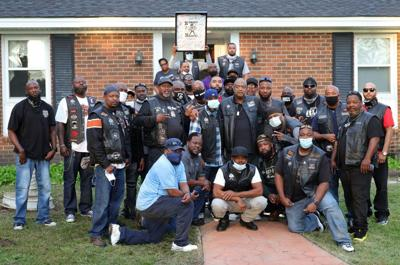 Motorcycle club rides to the rescue