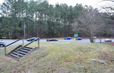 Site of former Confederate monument