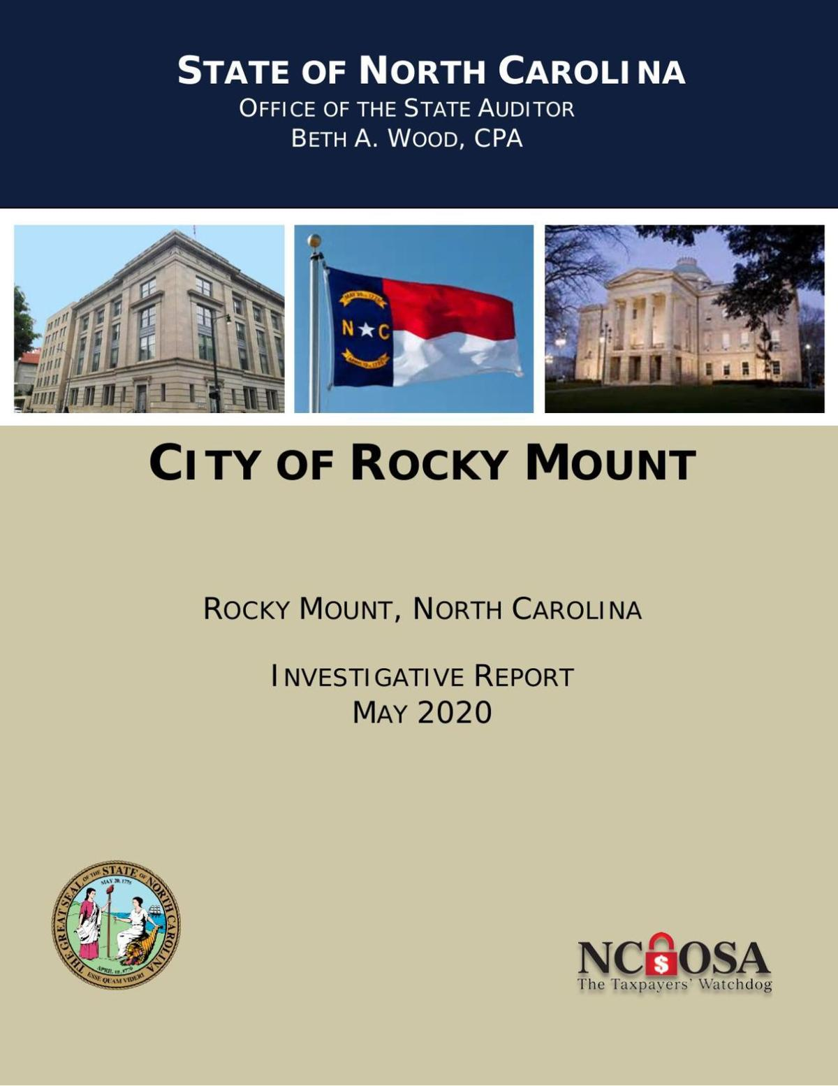 Report of the probe of the City of Rocky Mount